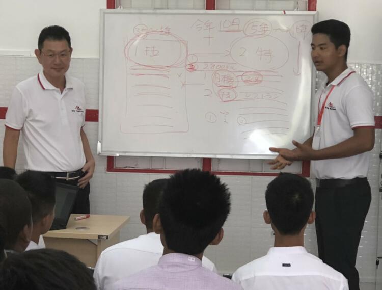 特定技能制度のミャンマーでの説明会